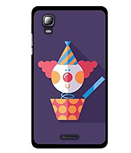 MiiCreations UV/2D Printed Back Cover for Micromax Canvas Doodle 3 A102,Cartoon