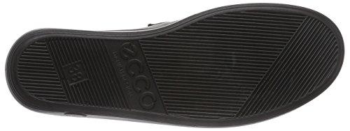 Ecco Soft 2.0 Derby Femminile Velcro Nero (56723 Nero Con Suola Nera)