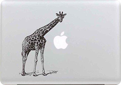 Macbook Aufkleber, Stillshine Super Dünn Removable New Fashion Cool Macbook Sticker Aufkleber Skin Laptop Vinyl Decal Abziehbild Abziehbilder (Giraffe) (Giraffe Macbook Decal)