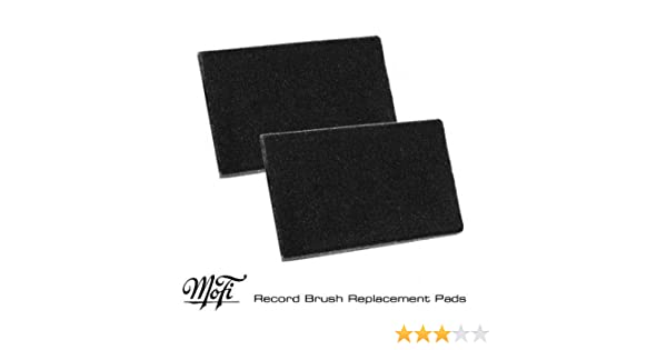 Replacement Record Brush Pads Mobile Fidelity Pair