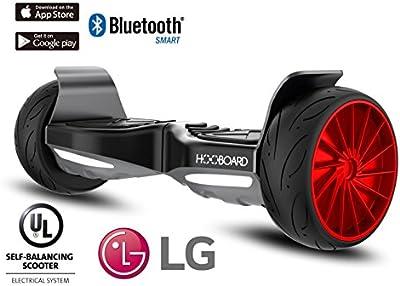 Hooboard Sport - Primera tabla de monopatín de equilibrio inteligente para sport, Hoverboard, Patinete, 800 W, con certificado UL2272, batería LG, impermeable, a prueba de polvo, SACO INCLUIDO