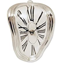 plata que fluye fusión efecto de reloj de Salvador Dali