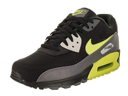 pretty nice 59428 2a743 NIKE Herren AIR MAX 90 Essential Gymnastikschuhe, Grau (Dark Grey Volt Black