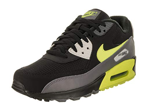 Nike Herren AIR MAX 90 Essential Gymnastikschuhe Grau (Dark Grey/Volt/Black/Light Bon 015) 42.5 EU