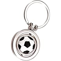 Bangle009 Clearance Sale 3D Sports Rotating Football Soccer Charm Keychain Men Women Car Key Ring Gift