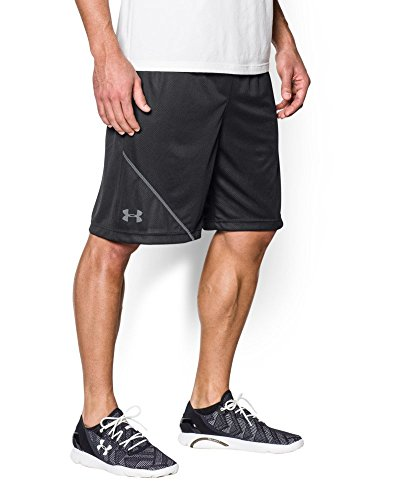 Under Armour Men's UA Quarter Shorts SM x One Size Steel Multicolore - Black/Steel/Black