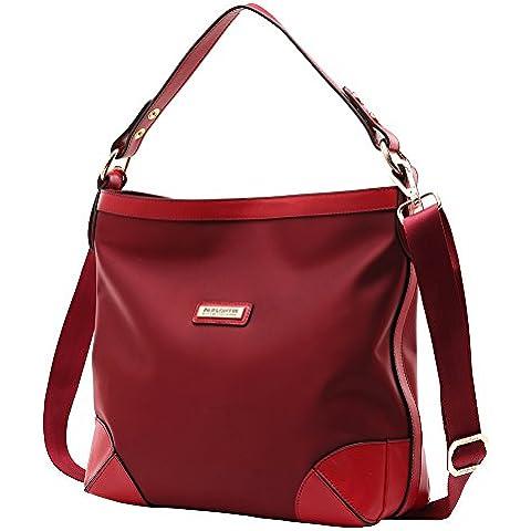 Parlontis® de las mujeres bolsos de hombro de nylon modelos bolsos del bolso de la marea bolsa de mensajero bolsas grandes de tela simple - 03