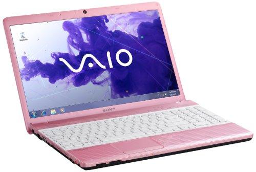 Sony Vaio EH3E0E/P 39,4 cm (15,5 Zoll) Notebook (Intel Pentium B960, 2,2GHz, 4GB RAM, 500GB HDD, NVIDIA 410M, DVD, Win 7 HP) pink