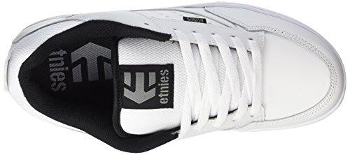 Etnies Kartel, Chaussures de Skateboard homme Blanc - Weiß (110 / WHITE/BLACK)