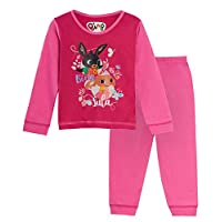 Bing Bunny Girls Long Pyjamas Pjs - Pink