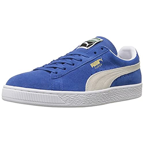 Classic, Baskets Mode Femme - Bleu (Olympian Blue/White), 38 EU (5 UK)Puma