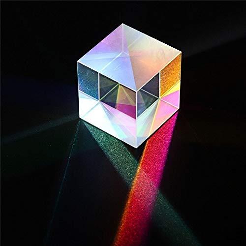 EisEyen Transparent Cube Optisches Glas Würfel Prisma Kunst Kristall Foto Fotografie 5 * 5 * 5mm/10 * 10 * 10mm/15 * 15 * 15mm/20 * 20 * 20mm/30 * 30 * 30mm