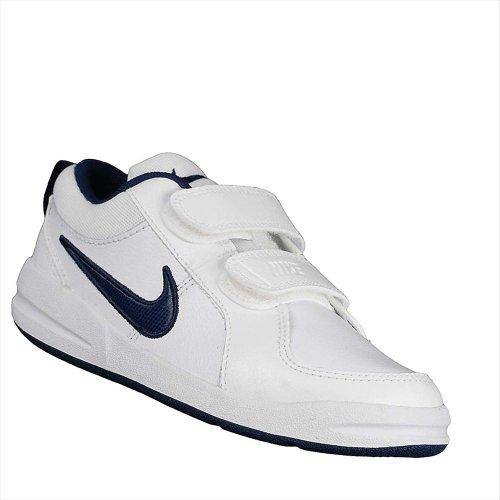 Nike Pico 4 PSV Scarpe Sportive, Bambino, Bianco (White / Midnight Navy), 30 EU