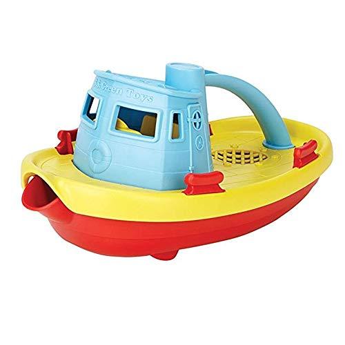 Xiaomei Kinder Wasserspielzeug Jungen Puzzle Baden Wasserspielzeug Schlepper U-Boot-Modell 10.25 * 5.25 * 4.5cm 10.25