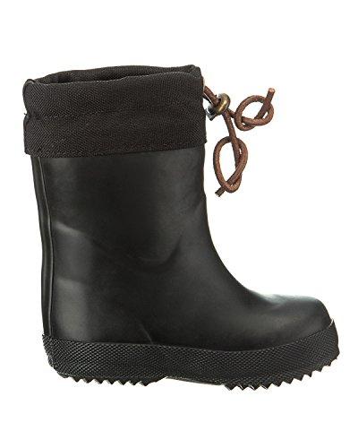 """Bisgaard Unisex-Kinder Rubber Boot """"Winter Thermo"""" Gummistiefel Schwarz"""