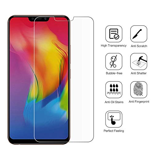 FASHIONISTA Full Glue Poco F1 Full Coverage Tempered Glass, Full Edge-to-Edge Screen Protector-Transparent (Pack Of 1)