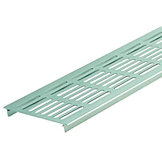 ALPERTEC Ventilation Grille 100x 500mm Aluminium Minium F1Nickel Silver Multi Plate Square-Pack of 133171240