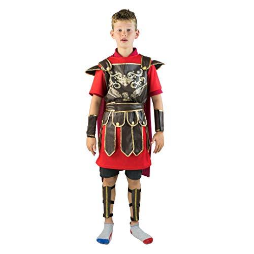 Bodysock® Gladiator Kostüm für Kinder (8-10 Jahre) (Kostüm Gladiator Kind)
