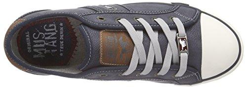 Mustang 1209-301 - Scarpe da Ginnastica Basse Donna Blu (800 dunkelblau)