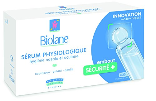 Biolane Sérum Physiologique x 30 - Lot de 6