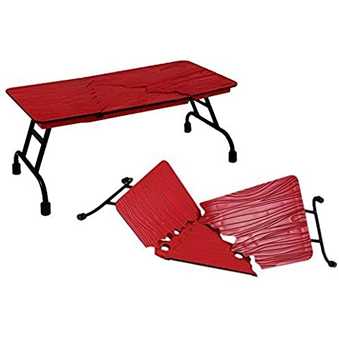 ULTIMATE TABLE (RED) - RINGSIDE COLLECTIBLES EXCLUSIVE WWE TOY WRESTLING ACTION FIGURE ACCESSORY by WWE