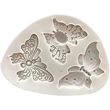 Vi.yo 1 Pcs Silicone Fondant Cake Icing Sugarcraft Decorating Mould Tools Molde de silicona