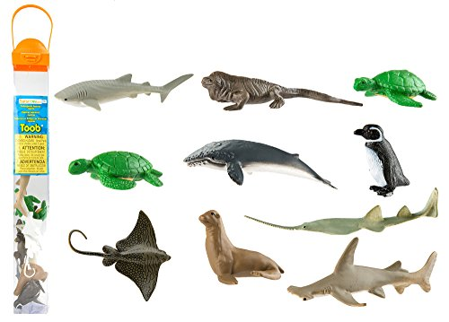 Safari Ltd. Toob® 100110 - Gefährdete Tierarten im Wasser