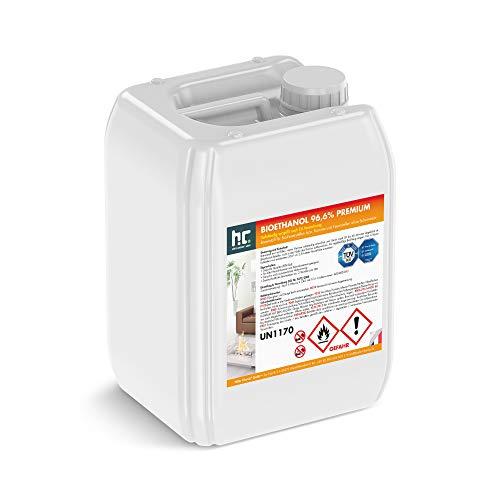 Höfer Chemie 2 x 10 L (20 Liter) Bioethanol 96,6{636bf867368cc17ad8589452c48e81e3690f62966c37766c64c2e8152c3e9e74} Premium - TÜV SÜD zertifizierte QUALITÄT - für Ethanol Kamin, Ethanol Feuerstelle, Ethanol Tischfeuer und Bioethanol Kamin