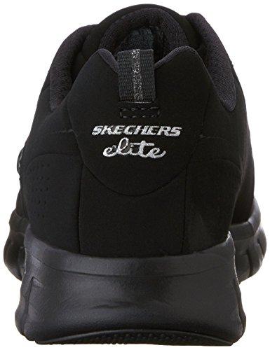 Skechers  SynergyTrend Setter,  Sneaker donna Nero (BBK)