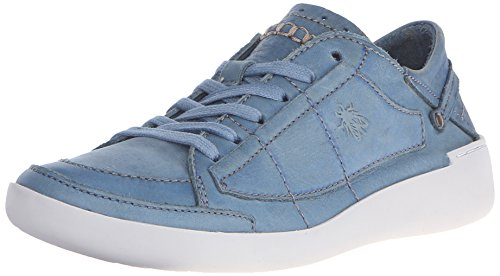 FLY London Teti240fly, Baskets Basses femme Bleu - Blue (Diesel)