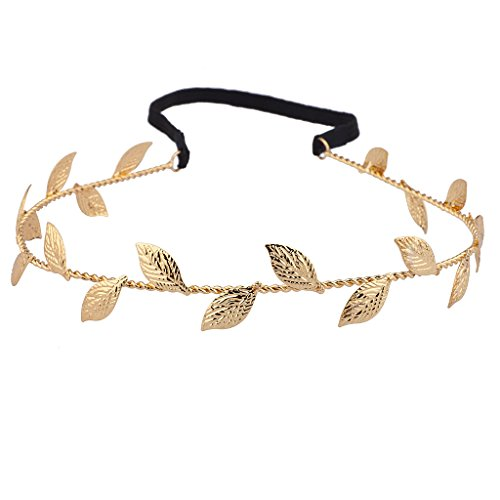 lux-accessories-metal-leaf-textured-woven-stretch-headband