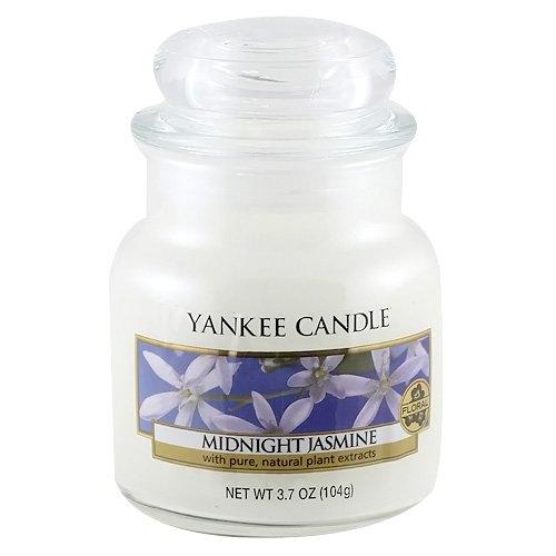 Yankee Candle Small Jar Midnight Jasmine, White
