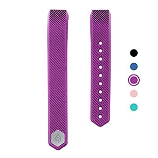 Delvfire Ignite Replacement Fitness Tracker Straps, Adjustable Replacement Bands Ignite Activity Tracker (Purple)