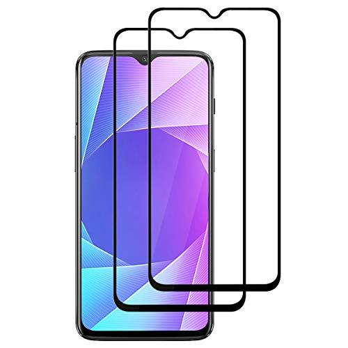FANYAN OnePlus 6T Panzerglas Schutzfolie, [Full Screen] [9H Härte] [Ultra-klar] [Anti-Kratzen] Bildschirmschutzfolie für OnePlus 6T【2 Stück】