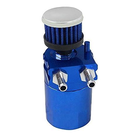 ALLOYWORKS Universal Cylinder Car Engine Oil Catch Reservoir Tank Can