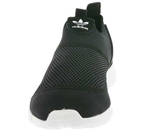 adidas ZX Flux Smooth, Slip-On Donna Schwarz