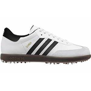 Adidas 2012 Samba Golf Shoes - White - Size 13
