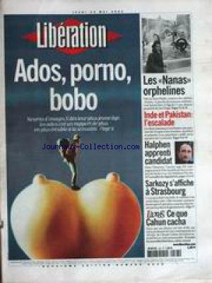 LIBERATION [No 6538] du 23/05/2002 - ADO...