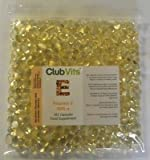 Club Vits Vitamin E 400iu - 365 Capsules GRIP SEAL BAG from Club Vits Ltd