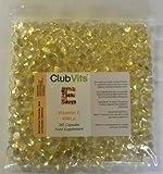 Club Vits Vitamin E 400iu - 365 Kapseln Druckverschluss Beutel