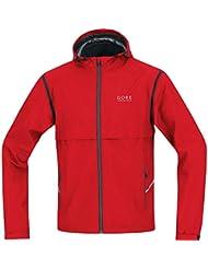 GORE RUNNING WEAR 2 in 1 Laufjacke, Abnehmbare Ärmel, GORE WINDSTOPPER, ESSENTIAL WS AS Zip-Off Jacket