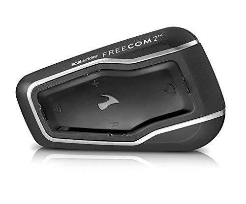 "Cardo FRC21003 Scala FREECOM 2-Bluetooth 4.1 sistema de comunicación para motocicleta con audio HD para Solo Riders ""descontinuado por el fabricante"""