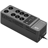 """APC Back-UPS """"Essential"""" BE850G2-FR - Onduleur parafoudre avec batterie de secours de 850VA (8 prises, parasurtenseur, 2 port de charge USB rapides Type-A et Type-C)"""