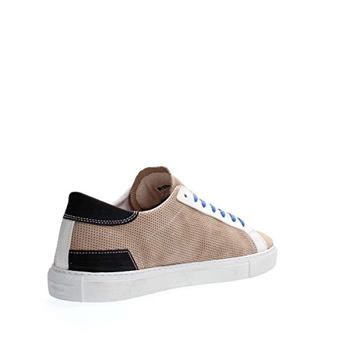 DATE NEWMAN PERFORATED M261 SAND SNEAKERS Homme Sable