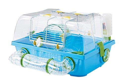 Savic Spelos Cage pour Hamster Bleu