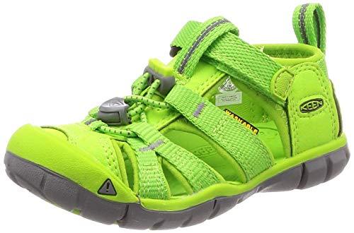 KEEN Seacamp II CNX Sandals Children Vibrant Green Schuhgröße US 8 | EU 24 2019 Sandalen