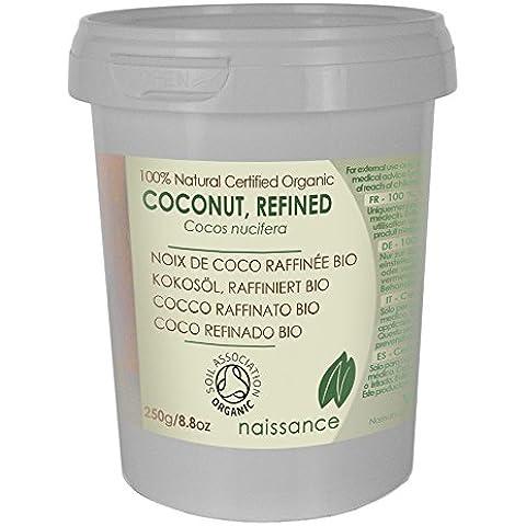 Coco Refinado BIO Sólido - Aceite Portador Prensado en Frío 100% Puro - Certificado Ecológico -