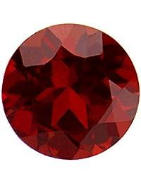 Be You Rouge Foncé Couleur Naturelle Mozambique Grenat AA Qualité 4 mm Taille Facettes Rond Forme Pierres précieuses en Vrac