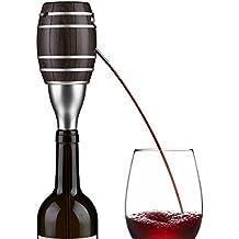 Decanter Wine, elegante dispensador de vino tinto Decanter eléctrico con tapón Batería operado Champán Spirit Difusor Sellador de vino Beer Bartend Tool Botella Pourer Caño - Material de grado aliment