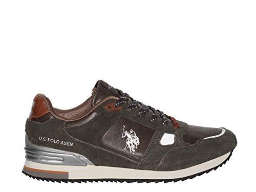 U.S. Polo Assn. Wilde, Sneaker Uomo, Grigio Grey, 40 EU